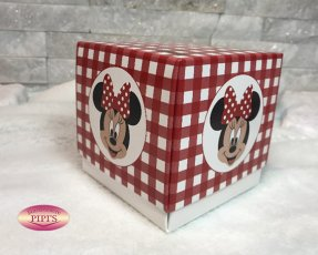 SCATOLA FLEUR MINNIE PARTY mm. 90x90x90